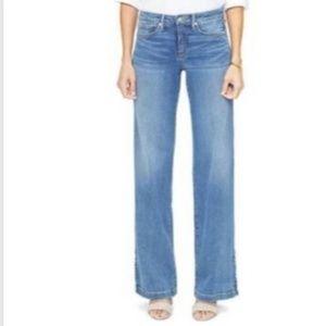 NYDJ Wide Leg Trouser Jeans Size 8